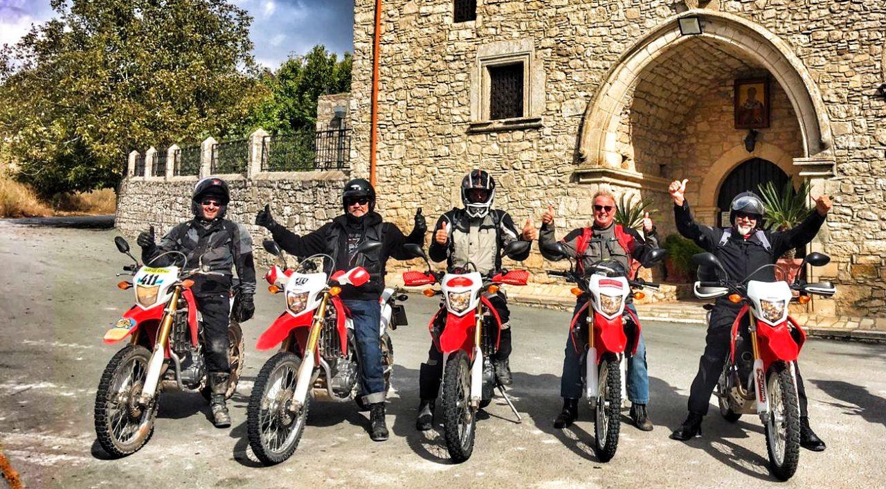 Cyprus 7 day enduro tour