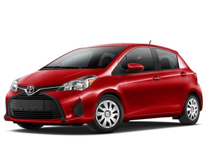 car rental Cyprus Toyota Yaris